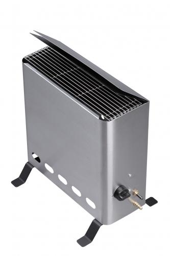 Gewächshausheizer mit Thermostat -grau