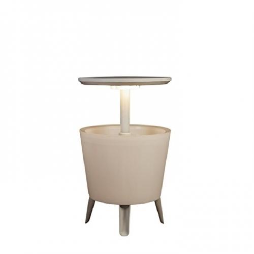 Keter 17204184 COOL BAR Partytisch mit Kühlfunktion Illuminated