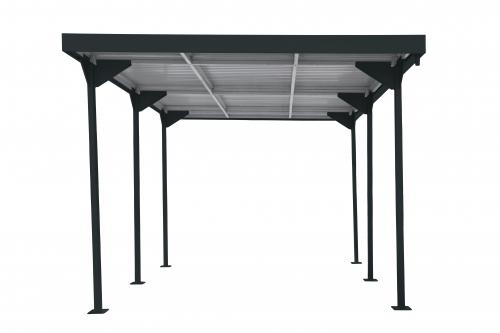 Palladium Carport Car Shelter anthrazit