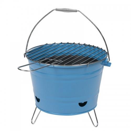 Tepro 1113 Holzkohlegrill Grilleimer Arlington blau