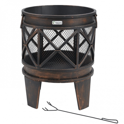 Tepro 1127 GRACEWOOD Feuerstelle mit Funkenschutz
