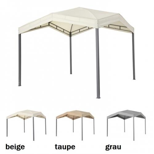 Tepro MARABO Pavillon-Set mit Dach und Seitenteil