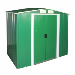 CLARA 6x4 Metallgerätehaus grün