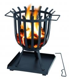 Tepro 1076 BRENTWOOD Feuerkorb mit Ascheauffangschale
