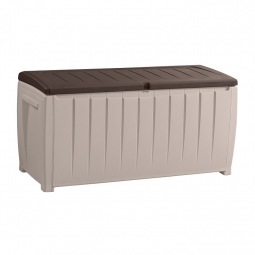 Keter 17198681 NOVEL Auflagenbox 340 Liter