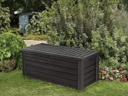 Keter 17204585 Westwood Box 150G/570L Auflagen- und Universalbox anthrazit/graphit