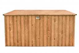 Metall-Gerätebox 190x90 Holz-Dekor Eiche