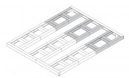Metall-Unterkonstruktion Colossus II 10x8 + 2 Erweiterungen