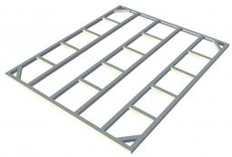 Metall-Unterkonstruktion Titan 8x6 + 2 Erweiterungen