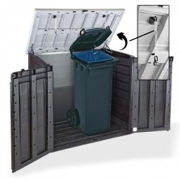 Mülltonnenaufbewahrung