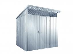 PALLADIUM 6x5 Metallgerätehaus silber