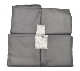 Palram 703319 Vorhänge Seitenteile für Aluminium Gazebo Pavillon PALERMO 3000/3500/3600 + MILANO 3000 + MARTINIQUE 3600