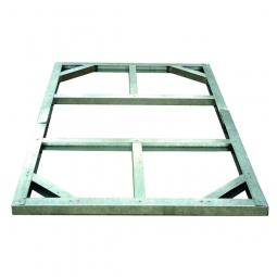 Tepro 7104 Metall Unterkonstruktion für Gartenhäuser