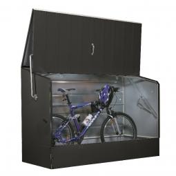 Tepro 7161 Fahrradbox für bis zu 3 Fahrrädern