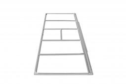 Tepro 7489 Metall-Unterkonstruktion II Pent Roof 8x4