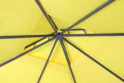 Tepro 5544 WAYA Pavillon-Set mit Seitenteil -gelb